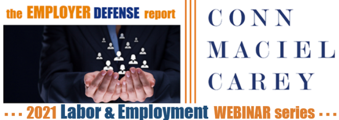 2021 Labor and Employment Webinar Series